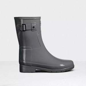 Hunter Refined Slim Fit Short Gloss Rain Boot